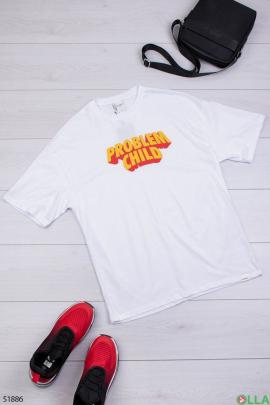 Мужская футболка с надписью