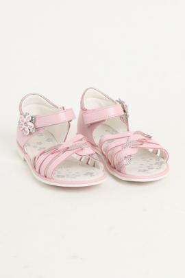 Розовые босоножки для девочки