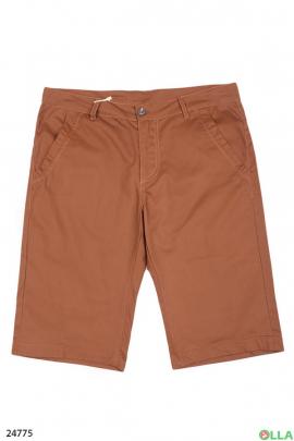 Однотонные мужские шорты