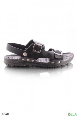 Мужские сандалии с ремешком