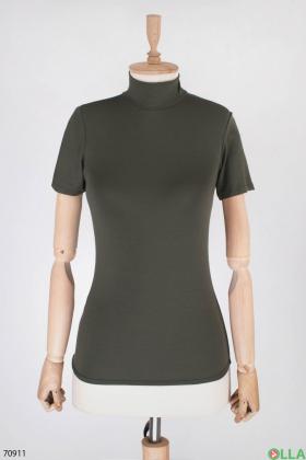 Женская темно-серая футболка