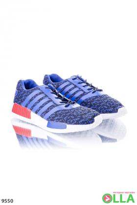 Кроссовки с двухцветной подошвой
