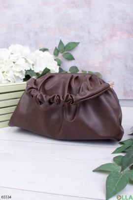 Женская темно-коричневая сумка