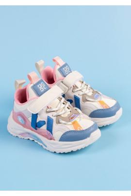Разноцветные кроссовки для девочек