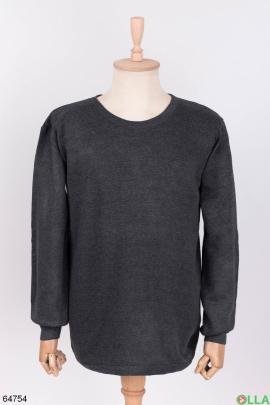 Мужской темно-серый термокостюм