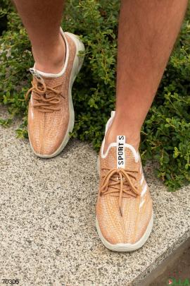 Мужские двухцветные кроссовки