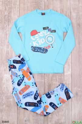 Пижама с рисунком для мальчика