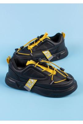 Черные кроссовки для мальчиков