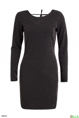 Женское платье с люрексом