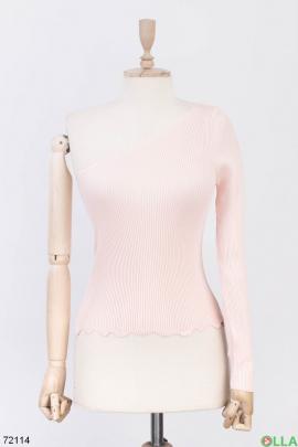 Женская кофта на одно плечо