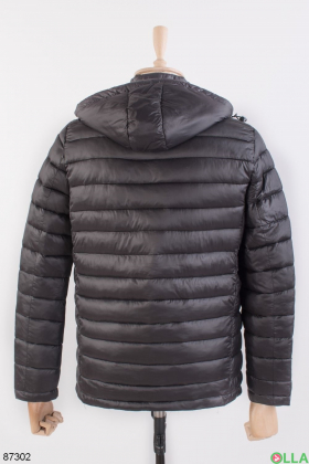 Мужская черная куртка
