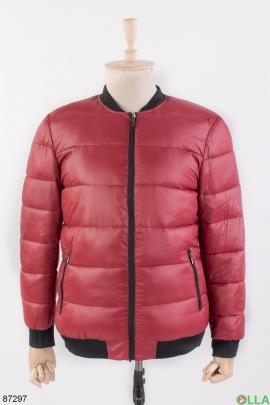 Мужская красная куртка