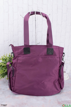 Женская фиолетовая сумка