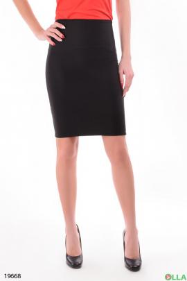Женская юбка черного цвета