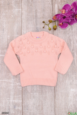 Свитер розового цвета