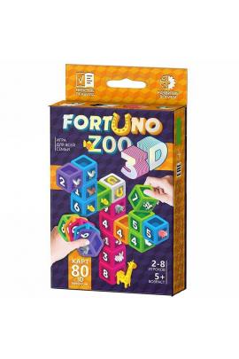 Карточная игра Dino Fortuno 3D Разноцветная 4823102810119 Разноцветный