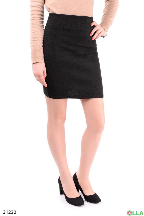 Юбка-мини черного цвета